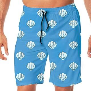 サーフパンツ メンズ 大きいサイズ 水着 海水パンツ 水陸両用 海パン ビーチパンツ 速乾 旅行 温泉 プール Beautiful Shell おしゃれ