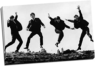 beatles abbey road poster black and white
