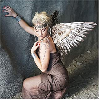 Zucker Feather Products WG55--N Adult Mockingbird Large Wings Costume, Angel Fairy Cosplay Halloween Feather Wing, 16