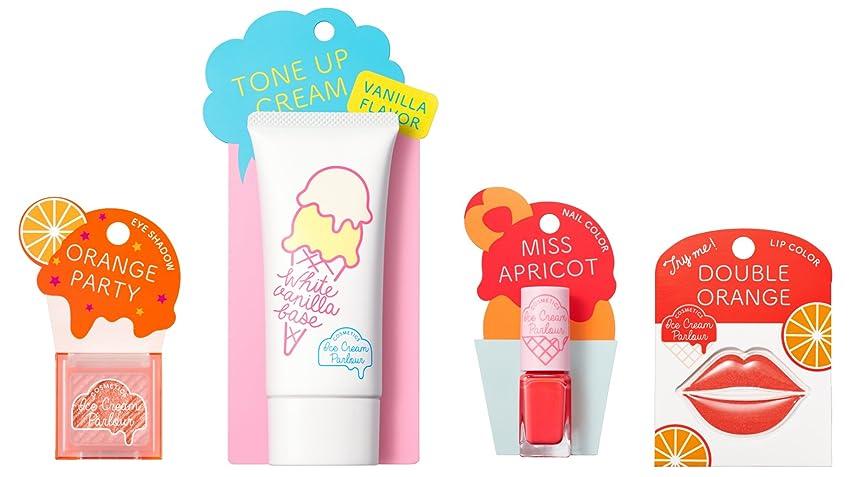 ハチいま再びアイスクリームパーラー コスメティクス アイスクリームセット B