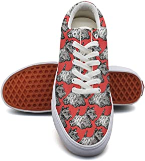 Ouxioaz Womens Canvas Shoes Casual I Just Want More Dogs Labrador paw Sports Shoe Laces