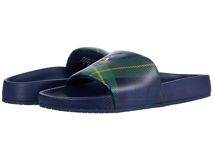 Polo Ralph Lauren  Cayson Trtn (Newport Navy/Tartan) Mens Shoes