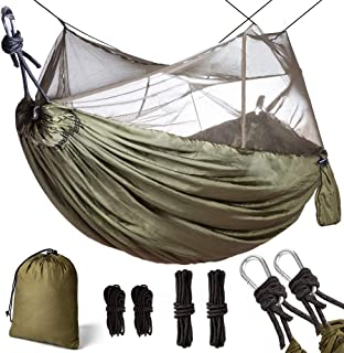YZ-Room Camping Hammock with Mosquito Net, Quick Dry Jungle Hammock,360 Degrees of Portable Insect Protection for Backpacking /& Camping
