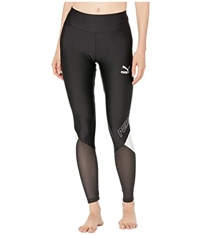 PUMA LuXTG Leggings (Puma Black 3) Women