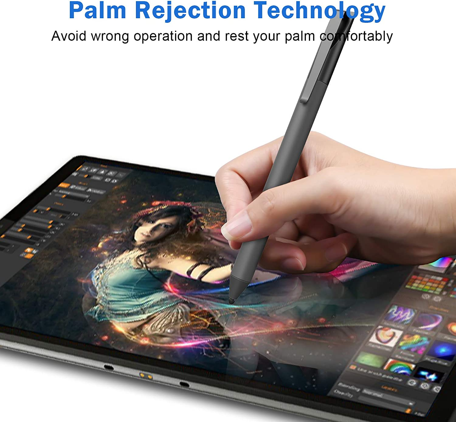 Buy Usi Stylus Pen For Chromebook With 4096 Levels Pressure For Hp Chromebook X360 Len Ovo Chromebook Asus Chromebook Flip And Acer Chromebook Series Including Aaaa Battery Spare Tip Online In Turkey