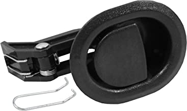 Reliable Recliner Replacement Parts ★ HANDLE COMES WITH CABLE HOOK ★ Small Oval Black Plastic Pull Recliner Handle 3