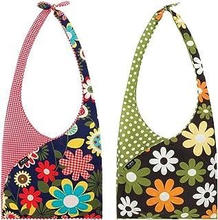 Envirosax Set of 2 Slingsax Bags, Gingham & Dot by Envirosax