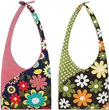 Envirosax Set of 2 Slingsax Bags, Gingham & Dot