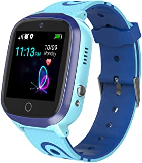 Smart Watch for Kids – Boys Girls Smartwatch Phone with Waterproof GPS Tracker..
