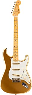 Fender Custom Shop 1958 Journeyman Relic Stratocaster Maple Fingerboard Electric Guitar Aztec Gold