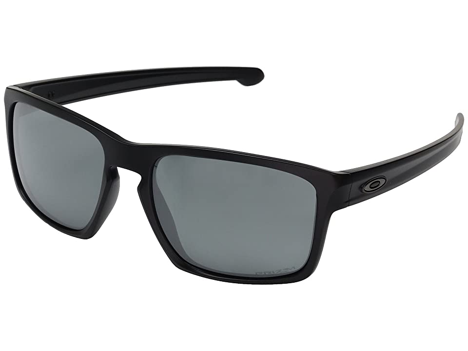 Oakley Sliver (Matte Black w/ Prizm Black Polarized) Fashion Sunglasses