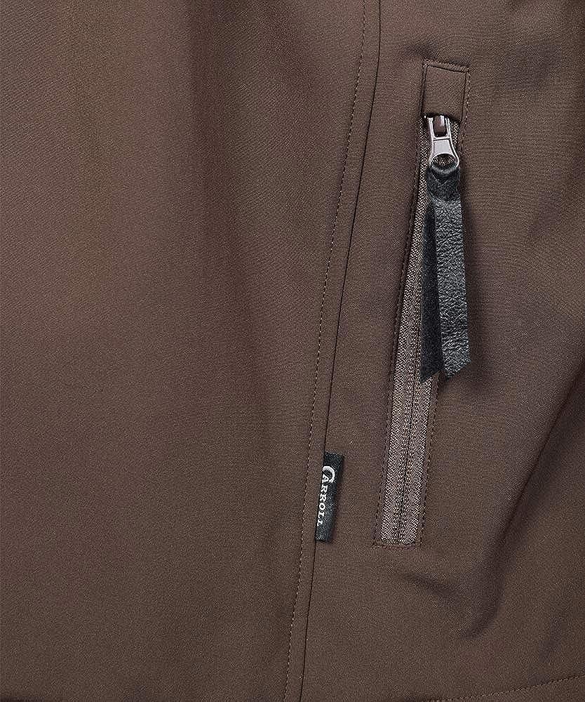 Carroll Original Wear Soft Shell Jacket, The Short Round Brown COW5694