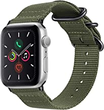 Sponsored Ad - Fintie Band Compatible with Apple Watch 44mm 42mm Series 6/5/4/3/2/1 iWatch SE, Lightweight Breathable Wove...
