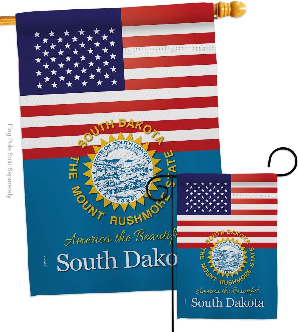 States US South 別倉庫からの配送 Dakota Garden House Regional 大幅にプライスダウン Flags Ameri USA Set