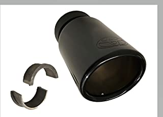 Genuine Toyota 4Runner Exhaust Tip PT932-89180-02. Black Chrome. 2010-2019 4Runner.