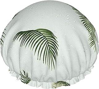 Opadłe liście pływające wodoodporna czepek prysznicowy z elastycznym obszyciem odwracalna konstrukcja do prysznica czapka ...