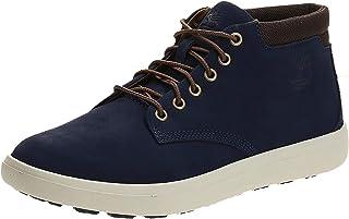 حذاء تشوكا من الجلد اشوود بارك للرجال من تيمبرلاند، مقاس 45 EU، لون ازرق داكن, (أزرق (أزرق)), 8.5 UK