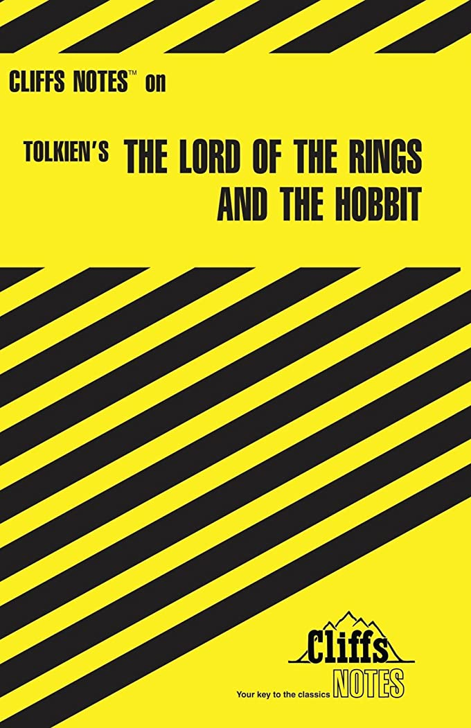 今まで幹カウントアップCliffsNotes on Tolkien's The Lord of the Rings & The Hobbit (Cliffsnotes Literature Guides)