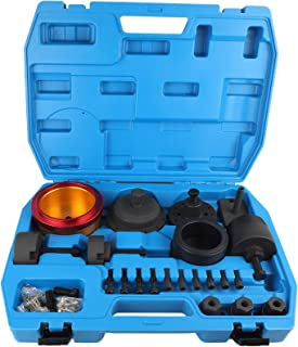 Mrcartool Crankshaft Seal Removal Kit,Crankshaft Front and Rear Oil Seal Remover and Installer Kit for BMW