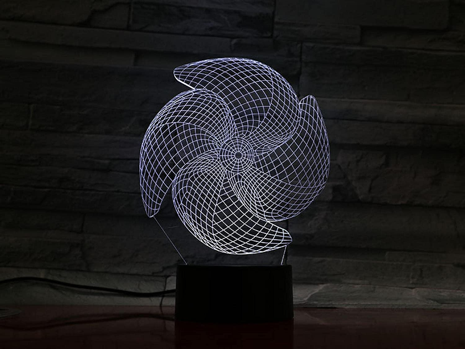Windmill 3D Night Light Creative Symphony Bedside Baby Challenge Virginia Beach Mall the lowest price T Bedroom