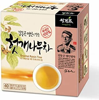 Ssanggye Tea Oriental Raisin Tree Tea 1g X 40 Tea Bags