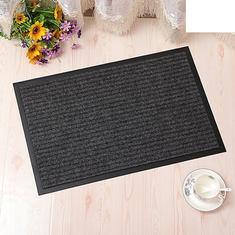 Carpet Doormat Door Door mats Doormat Foot pad Bathroom The Door Water-Absorbing mat Non-Slip mats Wear-Resistant Scraping mat-C 120x180cm(47x71inch)