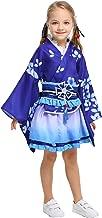 Mesodyn Kimono Flower Design for Kids Japanese Traditional Costume