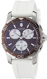 VictoriNox Casual Watch for Women, Rubber Band, 241503