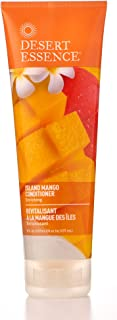 Desert Essence Island Mango Conditioner - 8 Fl Oz - Enriching - Detangles Hair - Naturally Moisturizes - Soft & Supple - Refreshing - Smooth & Silky - Shea Butter - Jojoba Oil - Natural - Organic