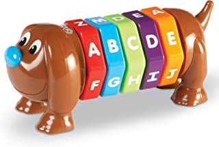 Learning Resources ABC Dog, Fine Motor Alphabet Toy, Early Phonics, 8Piece, Ages 2+