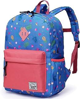 Backpack for Girls,Vaschy Preschool Toddler Rucksack Little Kid Small Backpacks for Preschoolers Children with Chest Strap Cute Fruits