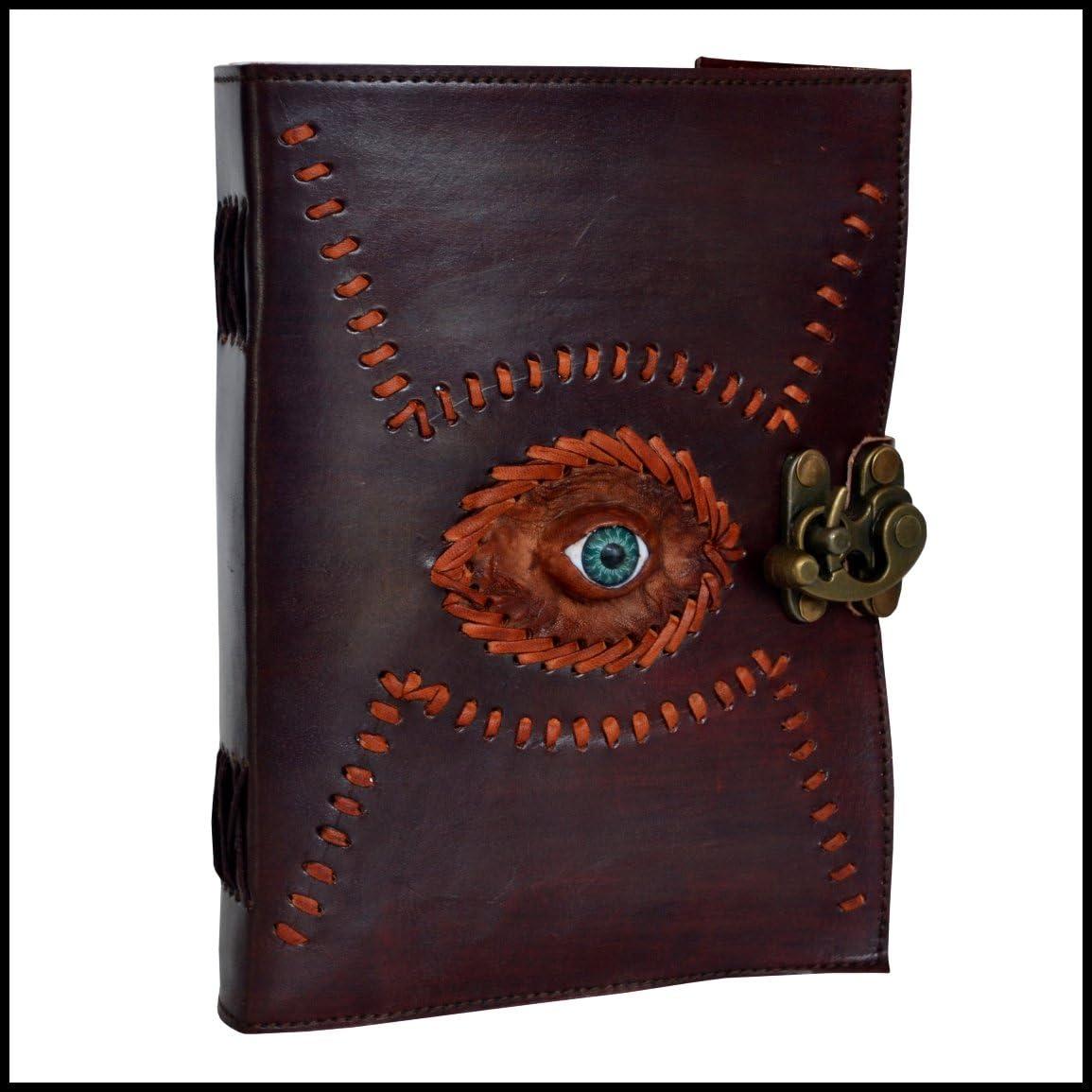 Leather Journal Book High material Gods Eye Personal Organiz Max 76% OFF Embossed Handmade
