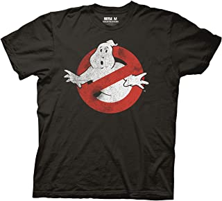 Ripple Junction Ghostbusters Logo Mens T-Shirt