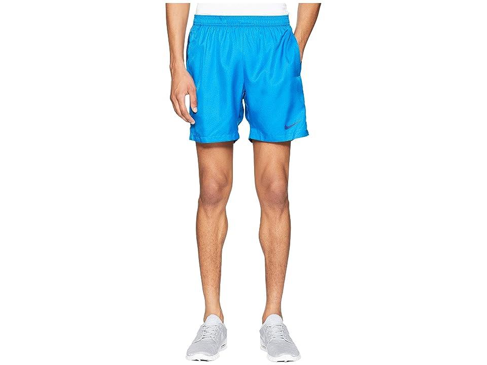Nike Court Dry 7 Tennis Short (Military Blue/Blue Void/Blue Void) Men