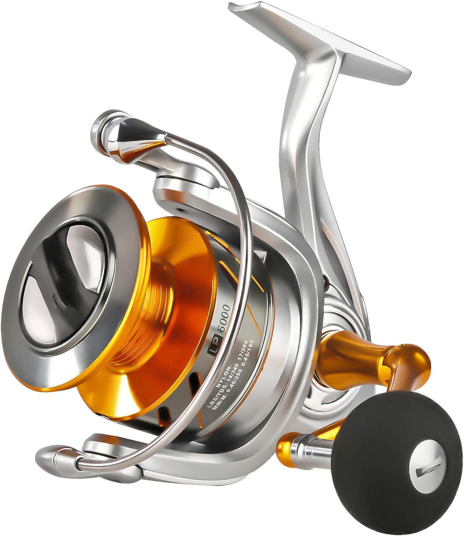 SeaKnight Rapid II Sea Fishing Reel 10+1BB Anti-Corrosion Saltwater Spinning Reel Carp Fishing Max Power 10kg//22LB