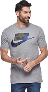 Nike Tee Camo Fill Ftra T-Shirt For Men, Size Medium CARBON HEATHER