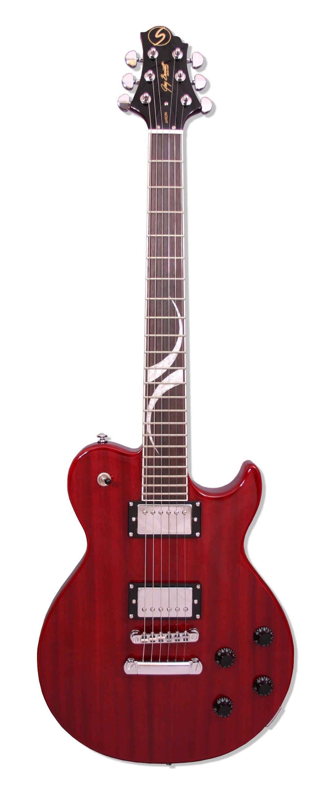 Cheap Samick Greg Bennett Design AV20 Electric Guitar Wine Red Black Friday & Cyber Monday 2019
