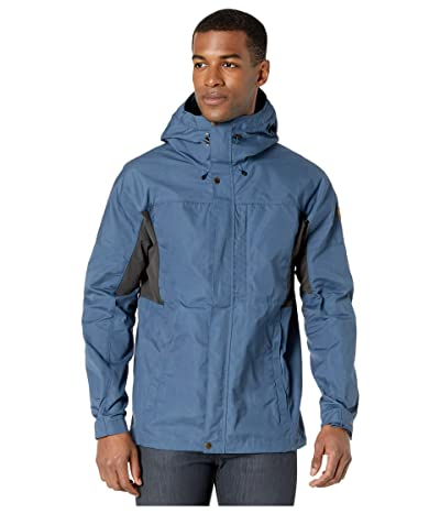 Fjallraven Kaipak Jacket (Uncle Blue/Dark Grey) Men