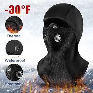 RIGWARL Balaclava Face Mask Waterproof Windproof Ski Winter Motorcycle Neck Warmer for Skiing, Cycling, Running, Fishing, Outdoor Sports