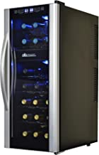 Avalon Bay AB-Wine21DS Wine Cooler, 21 Bottle, Black/Stainless Steel