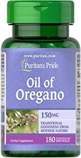Oil of Oregano by Puritan's Pride®, Contains Antioxidant Properties*, 150mg Equivalent, 180 Rapid Release Softgels