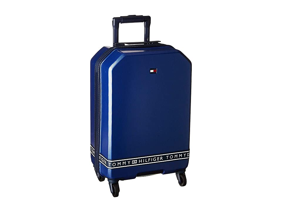 Tommy Hilfiger 21 Sneaker Sport Upright Suitcase (Royal) Luggage