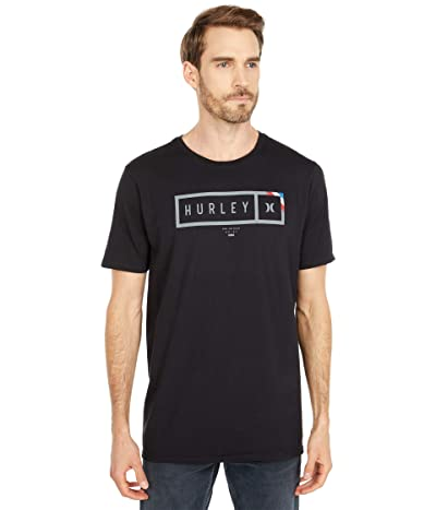 Hurley Bars Short Sleeve (Black) Men