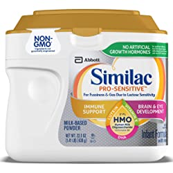 Similac Pro-Sensitive Infant Formula with 2'-FL Human Milk Oligosaccharide* (HMO) for Immune Support