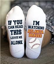 Best atlanta braves socks Reviews