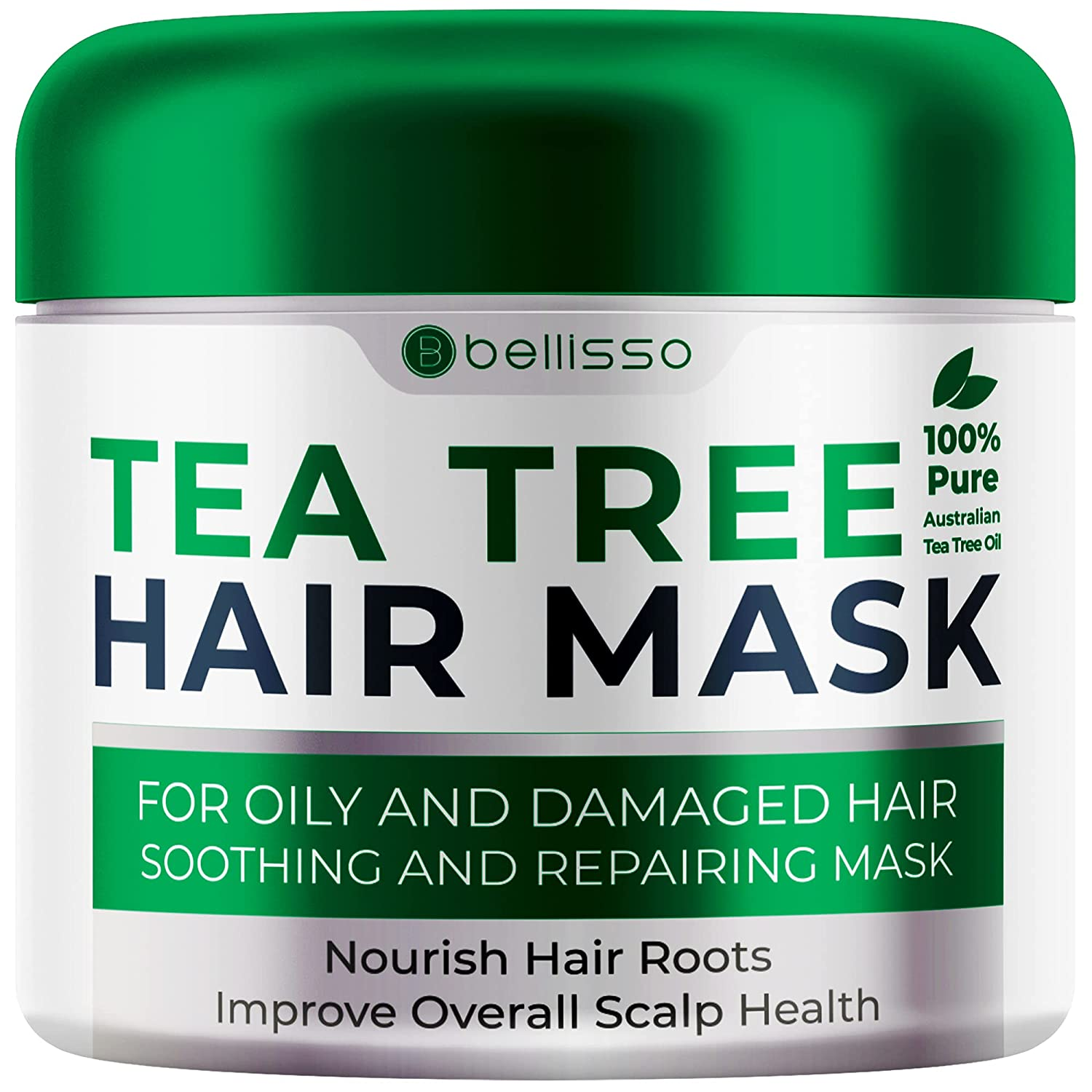 Bellisso Tea Tree Oil Hair Mask for Dry - Selling Houston Mall Damaged Products