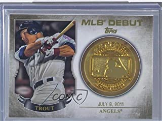 mike trout mlb debut