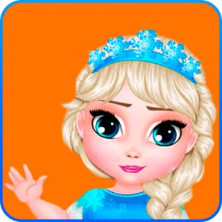 Dress Up Ice Babies Elsa X Abbey - for Girls