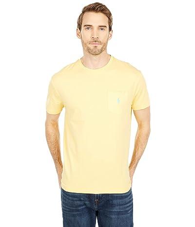Polo Ralph Lauren Classic Fit Pocket Tee (Empire Yellow) Men