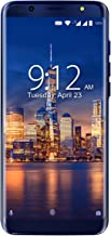 NUU Mobile G3-64GB/4GB RAM - 13MP+5MP Rear Camera, 13MP Front Selfie Camera - Dual-SIM 4G LTE Unlocked Cell Phone- Blue-One-Year US Warranty
